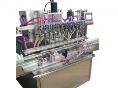 12头全自动饮品类液体灌装生产线